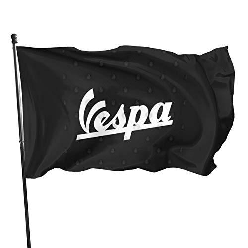 N/ Vespa-Logo-Flagge, 7,6 x 12,7 cm