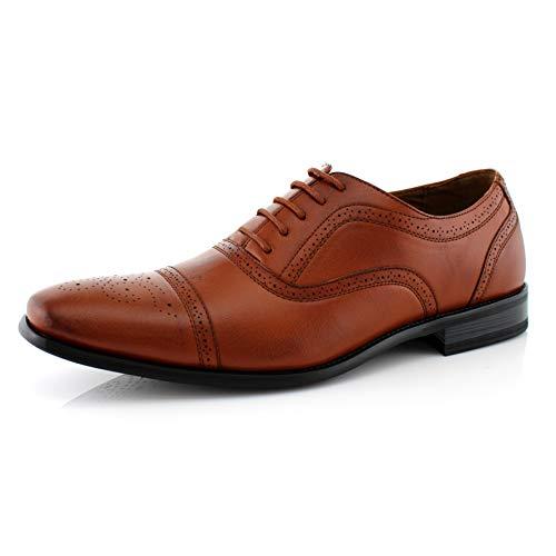 Delli Aldo Evertt M19006 Mens Cap-Toe Dress Formal Classic Shoes