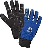 Hestra Ergo Grip Long Bike Glove - 5-Finger Glove for Mountain Biking - Royal Blue/Black - 9