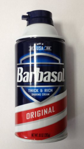 Barbasol Shaving Cream Can Diversion Safe Colors/Types May Vary