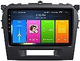 9-Zoll-Autoradio Double Din Head Unit Für Suzuki Vitara 2015-2018, Android 8.1 Multimedia-Player,...
