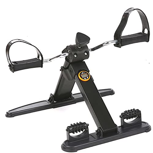 BOTOWI Equipo de Entrenamiento para hogar, Mini Bicicleta estática Bicicleta Spinning, Bicicleta estática de recuperación de Ajuste de Resistencia, Bicicletas Indoor para Mayores, Adultos