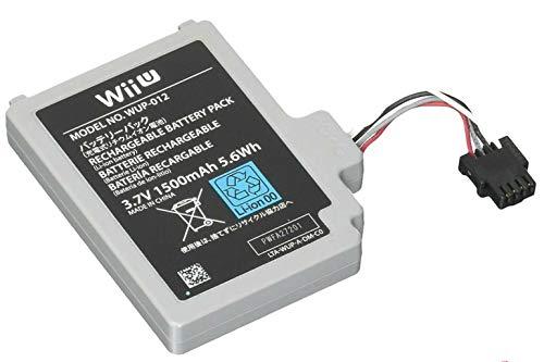 Desconocido Bateria para Mando Nintendo Wii U Modelo WUP-002 1500 mAh 3.7V Li-Ion Gamepad