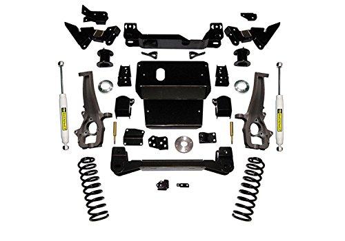 Superlift K120 Suspension Lift Kit w/Shocks 6 in. Lift w/Superide Rear Shocks Suspension Lift Kit w/Shocks