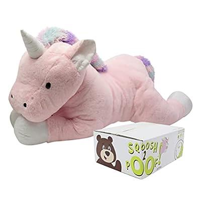 Animal Adventure, Sqoosh2Poof, Jumbo Plush Unicorn by Animal Adventure