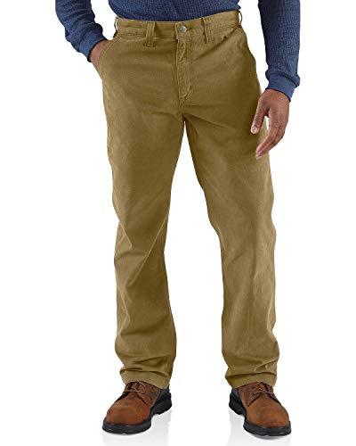 Carhartt Men's Rugged Relaxed Fit Work Khaki Pant, Dark, 30W X 30L