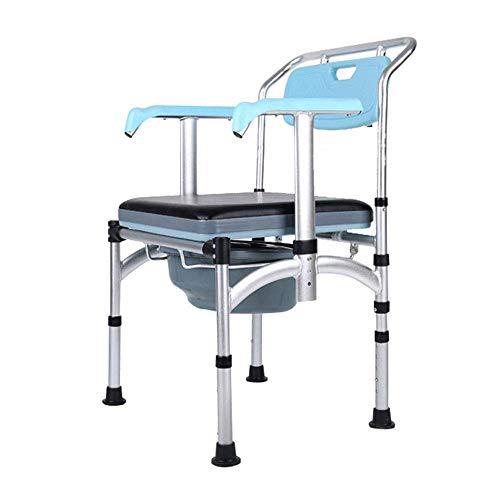 ZHANGYY Drive Medical Aluminium Klappbett seitlich Toilettensitz Hub Armlehne Anti-Rutsch-Bad Hocker für Pnant Frauen, ältere Menschen, Behinderte