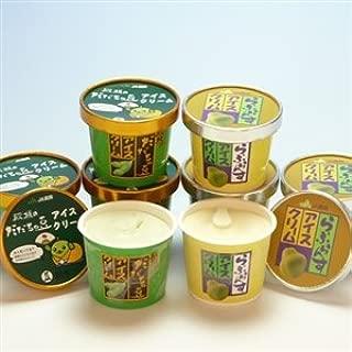 JA鶴岡 殿様のだだちゃ豆アイス&ラフランスアイス(8個)