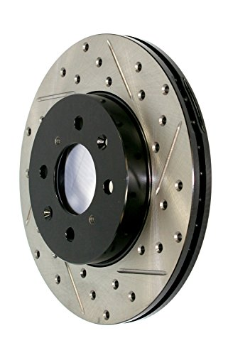 StopTech 127.47037L Sport Drilled/Slotted Brake Rotor (Rear Left), 1 Pack