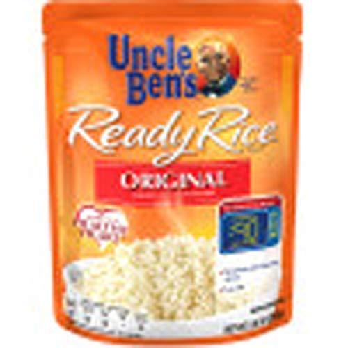 Uncle Bens Original Long Grain White Ready Rice, 8.8 Oz --- 12 Per Case
