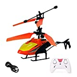 FOBHIYA® Exceed Induction Flight Electronic Radio RC Remote Control Toy Charging Helicopter