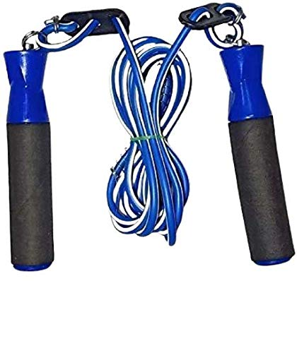 Rahul Rope Jump 10 ft Skipping Rope for Men, Women, Weight Loss, Kids, Girls, Children, Adult - Best in Fitness, Sports, Exercise, Workout.