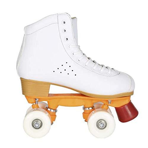 Roller Skates Dytxe adulto top del alto de cubierta al aire libre del patio de los patines, patines de ruedas for niños y niñas - Gran Principiante Niños del patín del patio - Disponible en dos xuwuhz