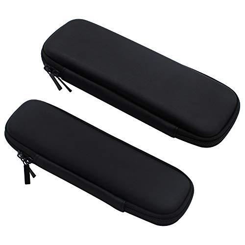 NewZC EVA Stift Etui 2 Stück Federmäppchen 2 Größe Wasserdicht Bleistift Tasche Kleine Aufbewahrungstasche für Bleistifte In-Ear-Kopfhörer USB Ladekabel Lippenstift -...