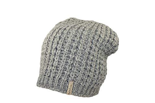Norton Bommel-Mütze Taupe Longbeanie