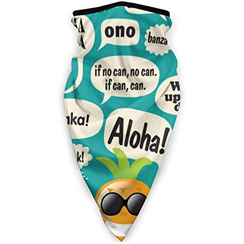 shenguang eslóganes Hawaianos máscara Facial a Prueba de Viento máscara Deportiva Bufanda al Aire Libre pasamontañas Cubierta Facial