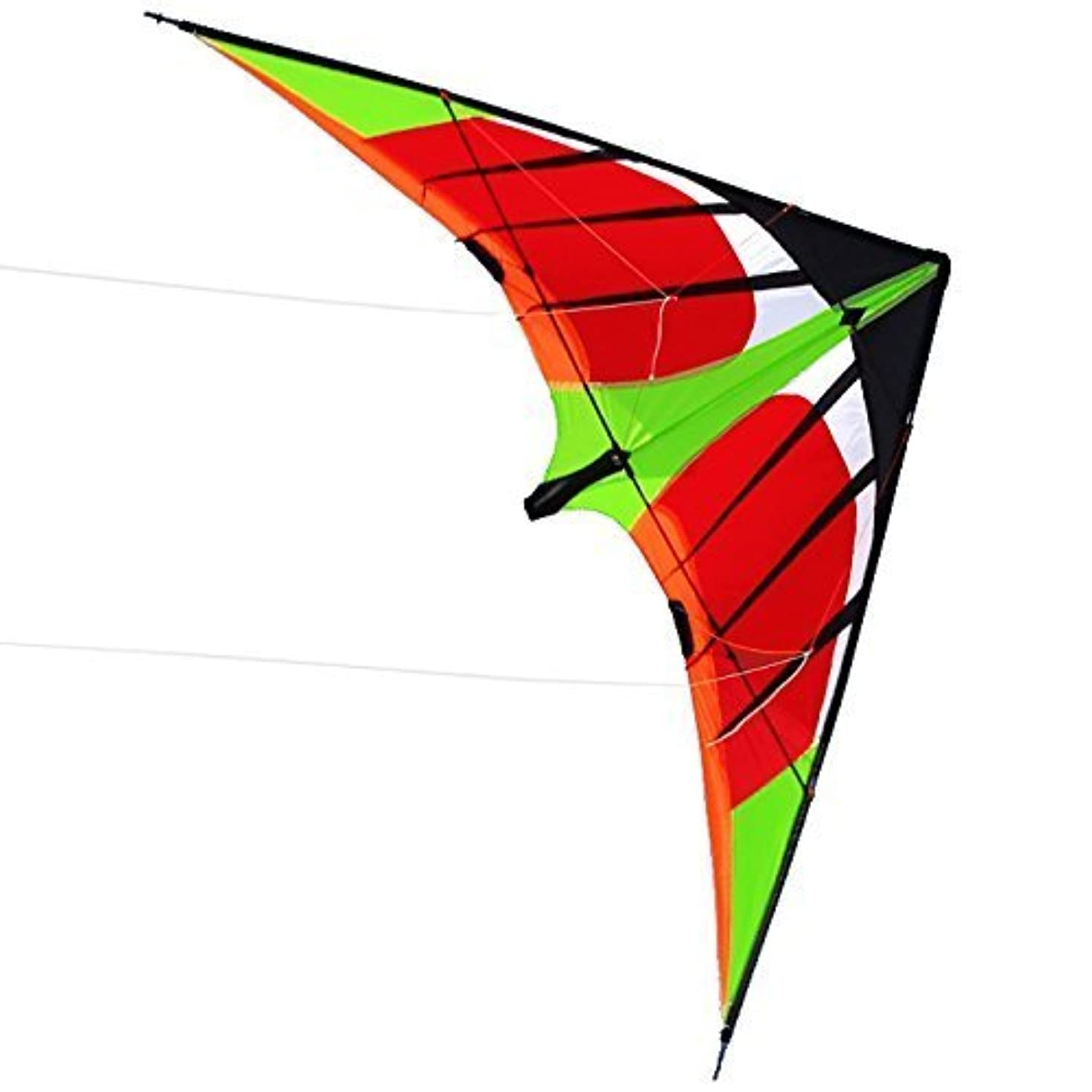 マリン波紋速報US Sky Kite NEW 5.9ft 1.8m Stunt Swift Kite Outdoor Sport Fun Toys Novelty Dual Line Delta [並行輸入品]