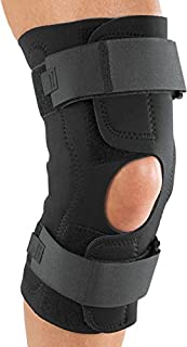 ProCare Reddie Hinged Knee Support Brace: Neoprene Wrap-Around, MCL and LCL Sprains, Large