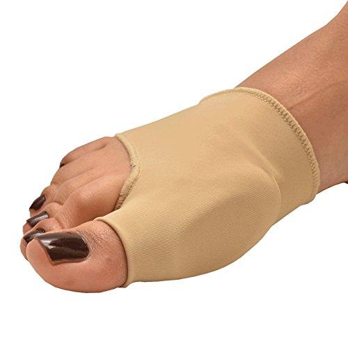 Medipaq® Gel Big Toe Straightener con protección de juanetes–Get Alivio del Dolor de Juanetes, ampollas, gota o artritis mientras Alisar el dedo gordo del pie para un más cómodo Walk