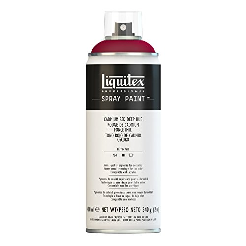 Liquitex Professional – Pintura acrílica en spray, 400ml, color rojo