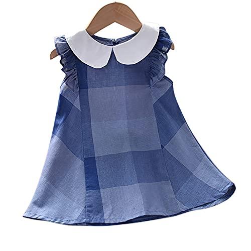 PopReal 女の子 ワンピース 子供服 ガールズ 夏 ノースリーブ キッズ ドレス 可愛い 花柄 韓国風 プリンセス風 遊園地 誕生日祝い