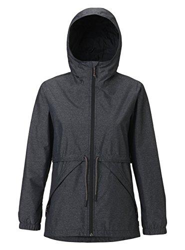Burton Womens Narraway Jacket, True Black Heather, Medium