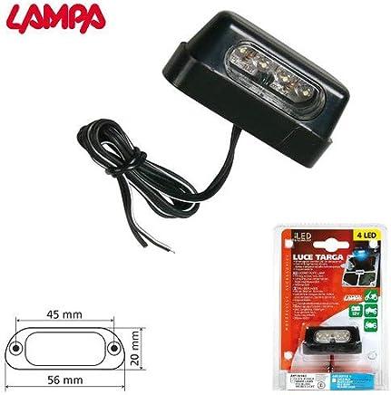Shiwaki Paire de Phare de Plaque dImmatriculation Feux Eclairage LED pour Ford Mondeo Mk3 00-07