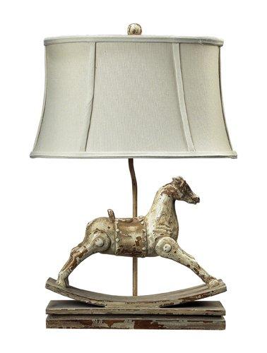 "Dimond Lighting 93-9161 Carnavale Rocking Horse Table Lamp, 10"" x 16"" x 24"""