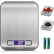 ADORIC Bilancia Digitale da Cucina, Life Bilancia Digitale Multifunzione Alimenti 5kg/11lb