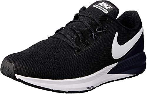 Nike Air Zoom Structure 22, Zapatillas de Entrenamiento Hombre, Negro (Black/White/Gridiron 002), 42.5 EU