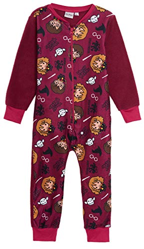 Pijama unisex con forro polar para niños y niñas, de Harry Potter