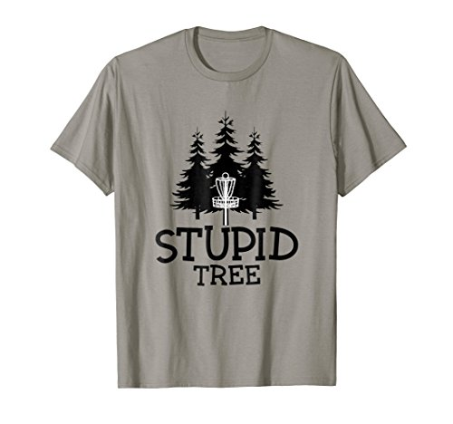 Stupid Tree Disc Golf T-Shirt | Funny Frisbee Golf Tee