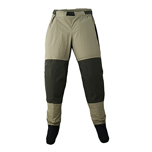 Raprance Fly Fishing Waist Waders Stockingfoot Pants Wader Breathable for Hunting Fly Fishing Kayaking
