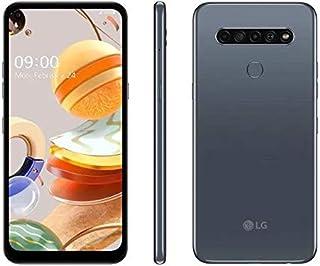 Smartphone Lg K61 Dual Tela 6.53` Octa Core 128gb 4g Câmera 48m+w8m+d5m+m2m - Titânio