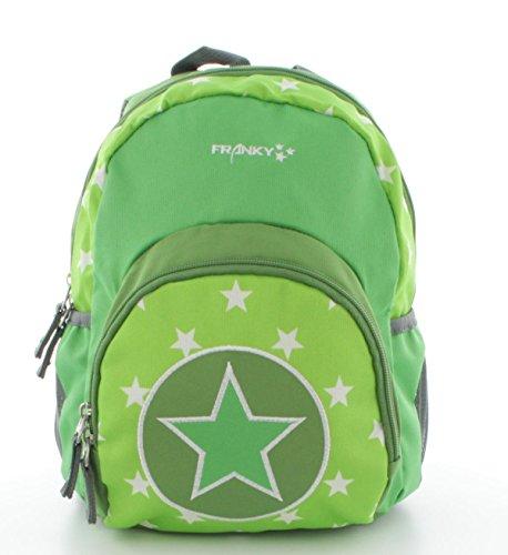 Franky Kinderrucksack KRS1 Mini Backpack grün