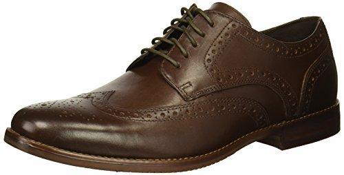 Rockport Men's Derby Room Wingtip Shoe in Brown