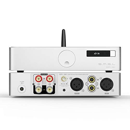 S.M.S.L DA-8s NJW1194 Bluetooth 5.0 Digital 280W Amplificador de Potencia de Escritorio Amplificador de Equilibrio Completo