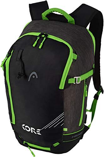 Head Freeride EOP 1.0 - Mochila de esquí, 30 x 50 x 21 cm, 20 L, color gris y verde