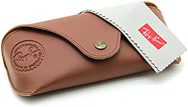Ray-Ban Special Edition Sunglasses & Eyeglasses Premium Leather Case w/Cleaning Cloth