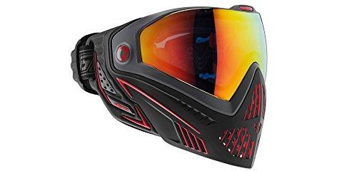 Dye i5 Paintball Maske, Mehrfarbig (Fire Black/Red), One Size