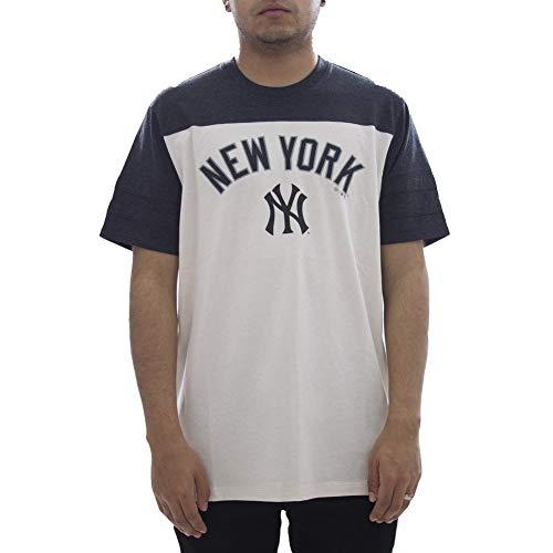 '47 Camiseta Brand MLB New York Yankees Beige S (Small)