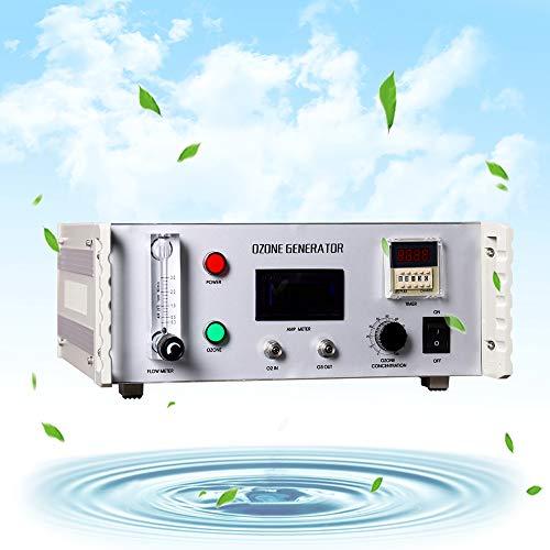 YJINGRUI Máquina generadora de ozono Máquina de ozono Máquina de ozono médica Fabricante de ozono Terapia Productor de ozono 7.3-7.8 G/H (110V)
