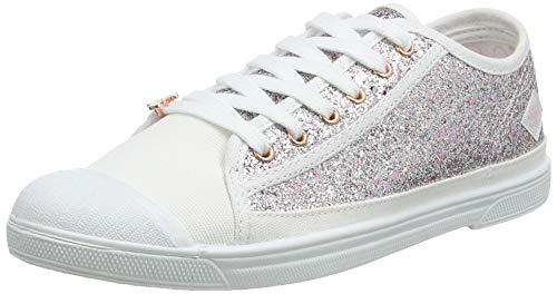 Le Temps des Cerises Basic 02, Sneaker Donna, Rosa (Glitter Pink Glitter Pink), 41 EU
