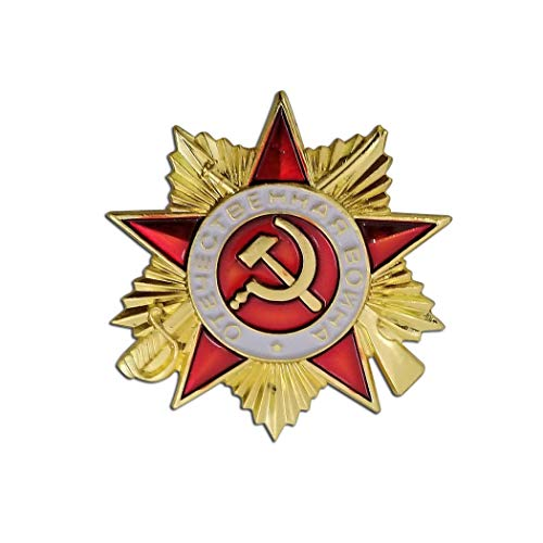 Kocreat Copy, simbolo della falce e del martello dei comunisti sovietici, URSS CCCP Medaglia militare oro-russo Medaglia Medaglia Onore Guerra Medaglie REPLICA