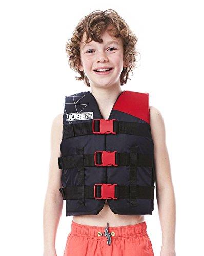 Jobe Kinder Nylon Schwimmweste, Rot, One Size
