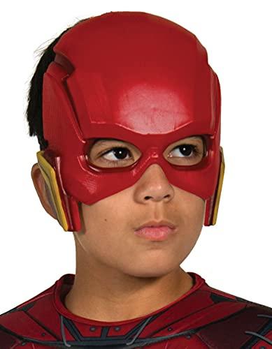 Rubie's DC Justice League Maschera Flash per Bambini, Accessorio Costume Licenza Ufficiale, Taglia Unica 3-10 Anni 34273