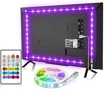 Bason Lighting Backlight 8.2ft TV Light Strip with Remote