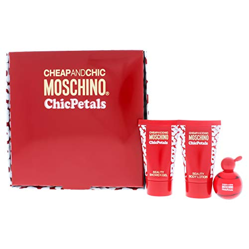 Moschino Cheap And Chic Chic Petals for Women 3 Pc Gift Set