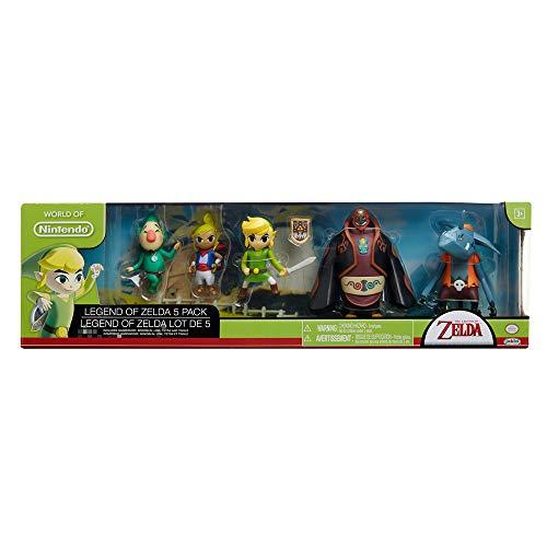 Nintendo Legend of Zelda Set de Juego Gift Set, Paquete de 1