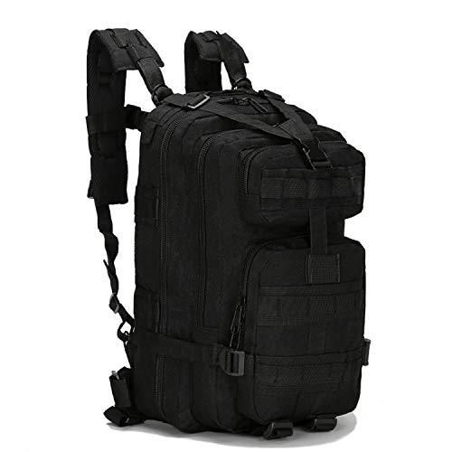 OASIS LAND 30L Men/Women Sport Bag Hiking Camping Bag Travelling Trekking Bag Backpack Camouflage Bag Rucksacks-Black-OneSize